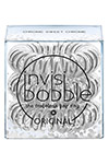 Invisibobble ORIGINAL Time To Shine Chrome Sweet Chrome - Invisibobble ORIGINAL Time To Shine Chrome Sweet Chrome резинка для волос прозрачно-серебряная, 3 шт