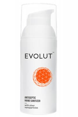 Evolut Antiseptic Hand Sanitizer With Silver Nanoparticles - Evolut гель для рук антисептический с наночастицами серебра
